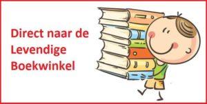 Kinderboeken in de levendige boekwinkel